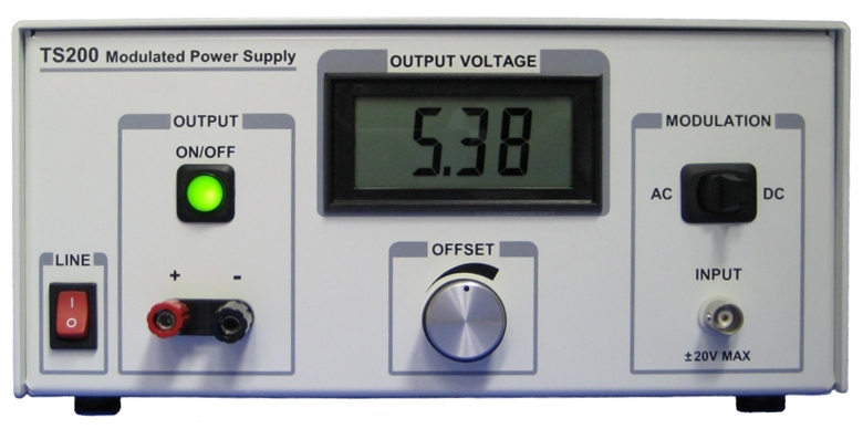 TS200 high voltage amplifier is for amplifying function generators and driving heavy load.